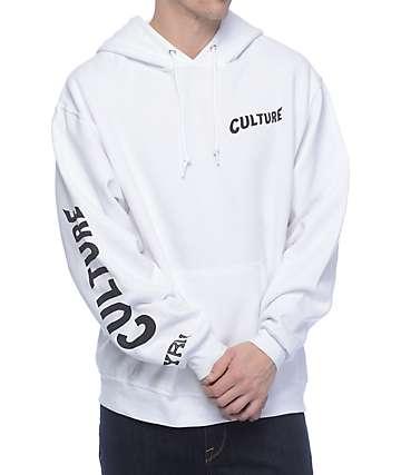 YRN Culture White Hoodie