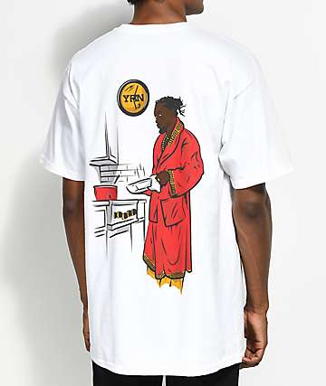 YRN Kitchen Cookin' camiseta blanca