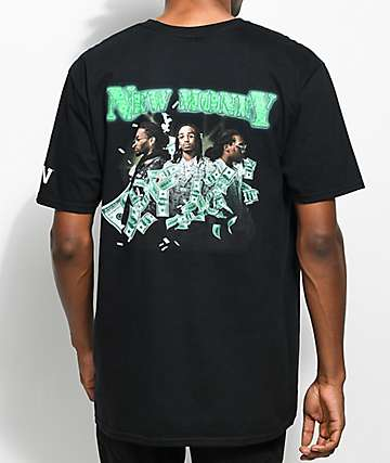 YRN New Money camiseta negra