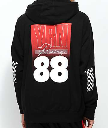 YRN Racing 88 Black Hoodie