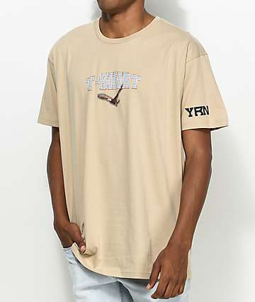 YRN T-Shirt Movie camiseta marrón