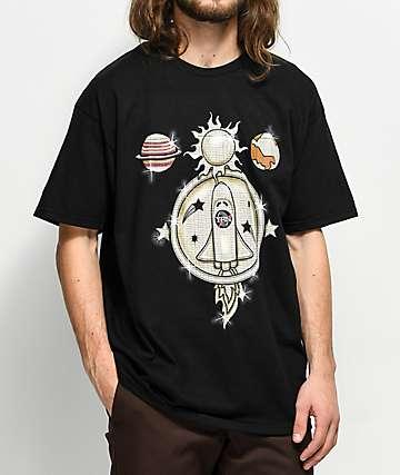 YRN Takeoff Chain camiseta negra