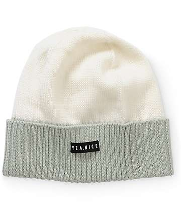 Yea.Nice Two Tone Beanie