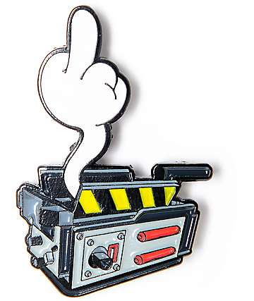 Yesterdays Ghost Trap Enamel Pin