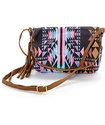 Yoki Tribal Crossbody Purse