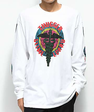 Young Thug Thugger Slime Lord White Long Sleeve T-Shirt