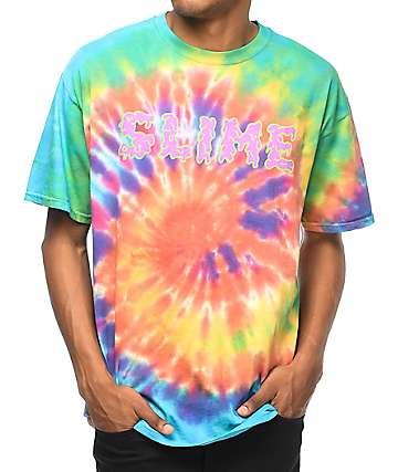 Young Thug Thugger Slime camiseta con efecto tie dye