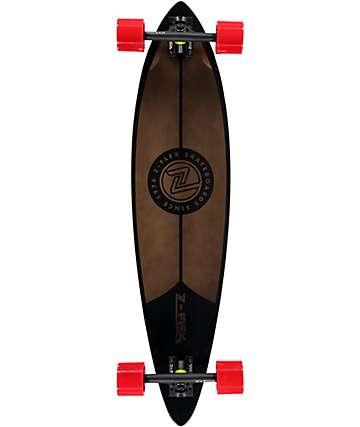 """Z-Flex Black 38"""" longboard pintail completo"""