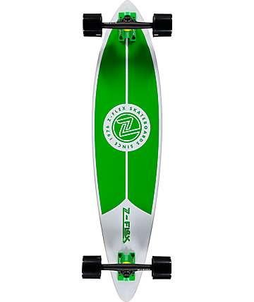 """Z-Flex Green 38""""  Pintail Longboard Complete"""