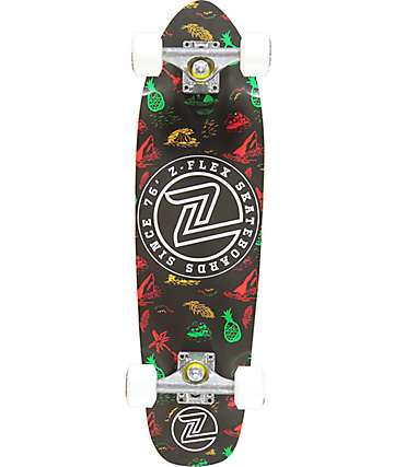 "Z-Flex Island Time 27"" Cruiser Complete Skateboard"
