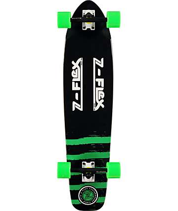 "Z-Flex Kicktail Green 38"" Longboard Complete"