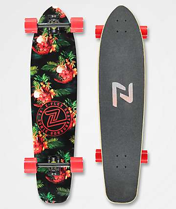 "Z-Flex Prawn Cocktail 39.5"" Roundtail Longboard Complete"