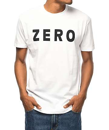 Zero Army White T-Shirt