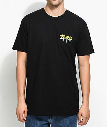 Zero Blood Rainbow camiseta negra