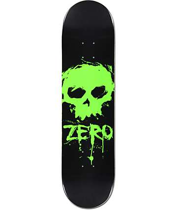 "Zero Blood Skull 8.0""  Skateboard Deck"