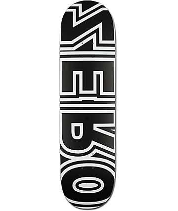 "Zero Bold Reverse 8.5""  Skateboard Deck"