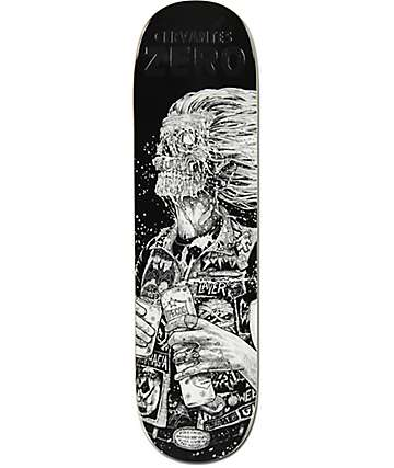 "Zero Cervantes Faces Of Death 8.5"" Skateboard Deck"
