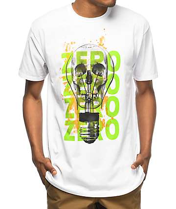 Zero Electric Death camiseta blanca