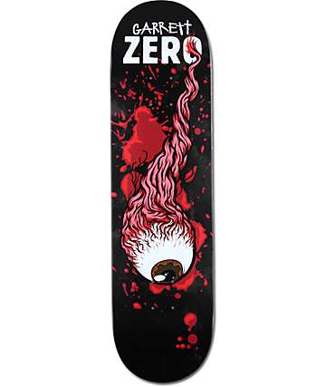 "Zero Garrett Severed Ties 8.25""  Skateboard Deck"