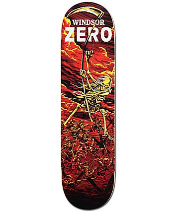 "Zero James Wrath of War 8.12"" Skateboard Deck"