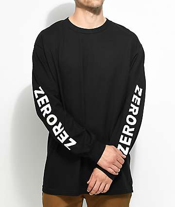 Zero Negative Army Black Long Sleeve T-Shirt