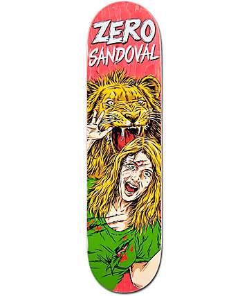 "Zero Sandoval Animal Attack Impact Support Light 8.0"" Skateboard Deck"