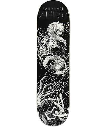 "Zero Sandoval Faces Of Death 8.125"" Skateboard Deck"