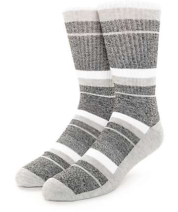 Zine 10 Feet Tall calcetines en blanco, gris y negro