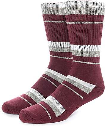 Zine 10 Feet Tall calcetines en colores vino y crema