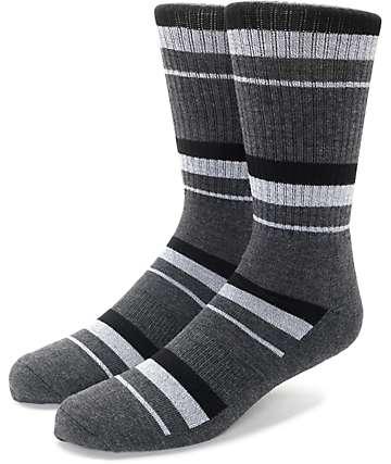 Zine 10 Feet Tall calcetines en negro y color plomo