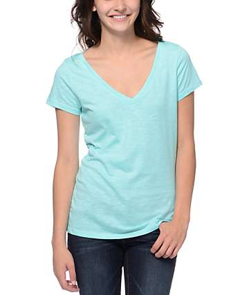 Zine Aruba Blue Beta V-Neck T-Shirt