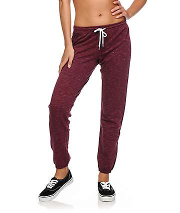 Zine Blackberry Speckle Jogger Pants