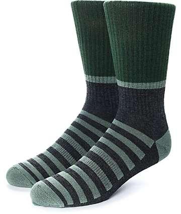 Zine Blast calcetines en gris y verde olivo