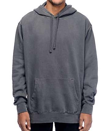 Zine Bombei Pigment Dyed Grey Hoodie