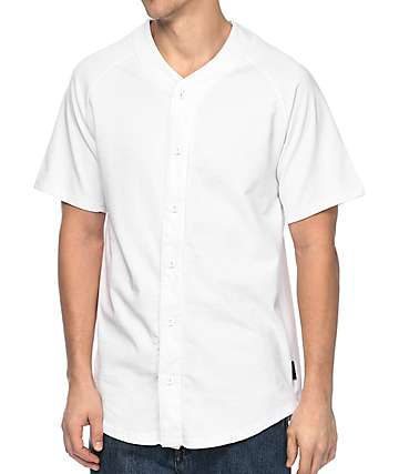 Zine Bonds jersey de béisbol en blanco