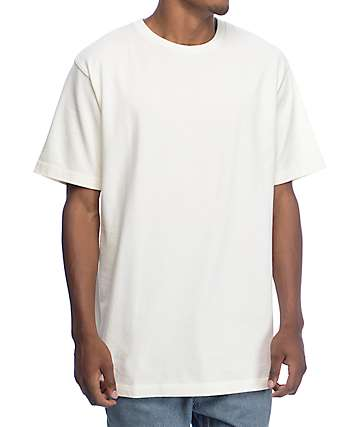 Zine Boxed Off White Boxy Fit T-Shirt