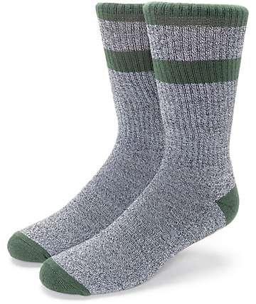Zine Brawny calcetines en colores carbón y olivo