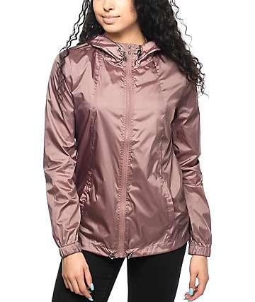 Zine Calla chaqueta cortavientos en color rosa