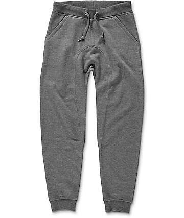 Zine Cover Youth pantalones jogger en gris