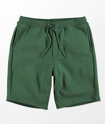 Zine Damon Forest Fleece Athletic Shorts