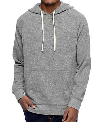 Zine Dash Heather Grey Hoodie