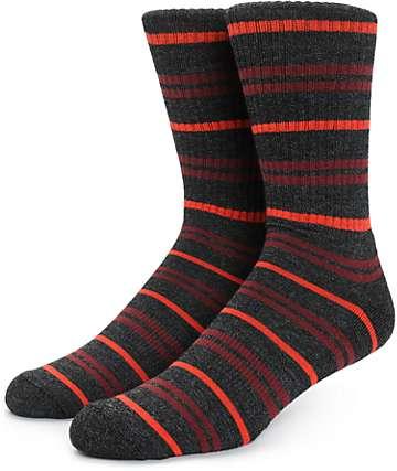 Zine Dood Stripe Crew Socks