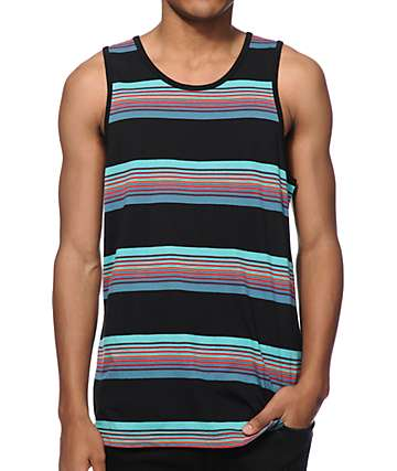 Zine Fat Stacks Stripe Tank Top
