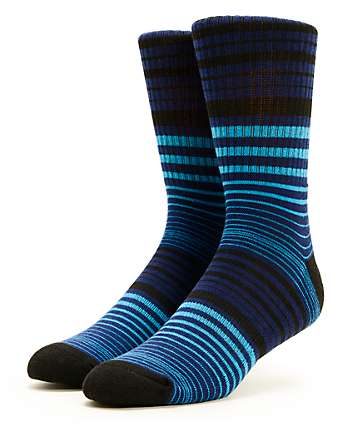 Zine Herring Stripe Crew Socks