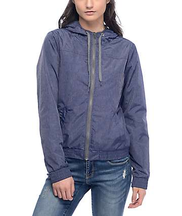 Zine Laya Navy Fleece Lined Jacket