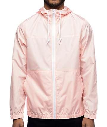 Zine Marathon Pink Windbreaker Jacket