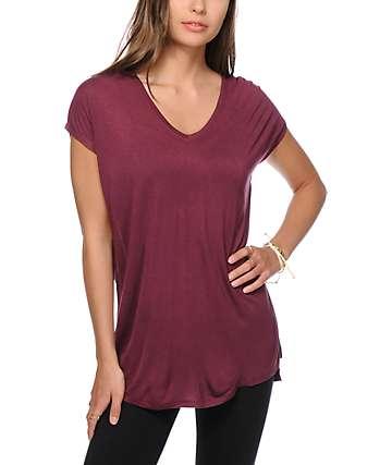 Zine Marla Fig Dolman T-Shirt