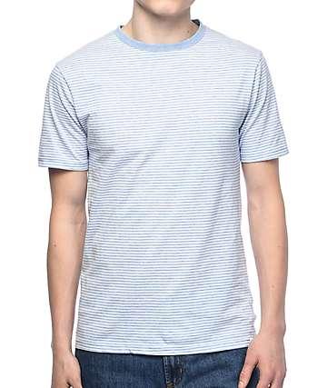 Zine Niles camiseta a rayas en azul claro