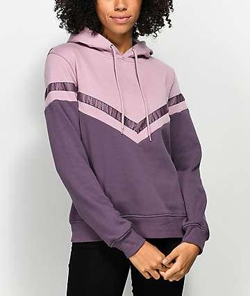 Zine Nora Mauve & Purple Hoodie
