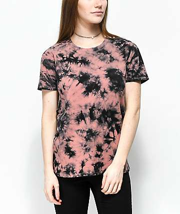 Zine Rayna Old Rose Tie Dye T-Shirt